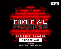 MS012: David Pelayo – Paris Is Burning EP w/ remixes by Jeremy Stott & Josh Sturges [Out Now!]