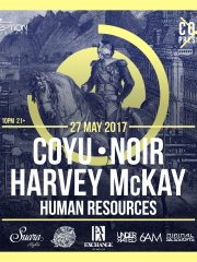 Coyu, Noir, & Harvey McKay at Exchange LA