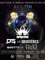 Spektre w/ Groovebox at Minimal Sessions