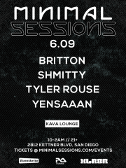 Minimal Sessions at Kava Lounge