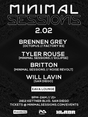 Minimal Sessions at Kava Lounge SD