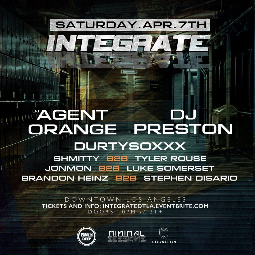 Integrate DTLA - April 7