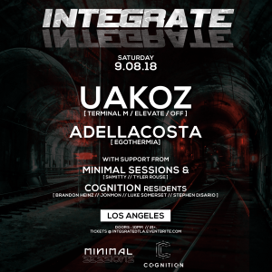 Integrate with Uakoz in Downtown LA [Minimal Sessions x Cognition]